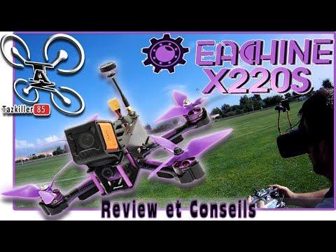 wizard-x220s-fpv-racer-review-test-démo--conseils-et-config-
