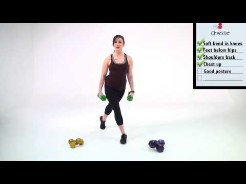 How to perform  a Curtsy Lunge