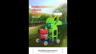 Top 2 machine in China grass silage straw stalk cutting / corn crusher / chaff cutter machine