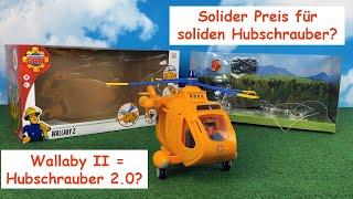 Feuerwehrmann Sam - Hubschrauber Wallaby II - Simba 109251002 Review