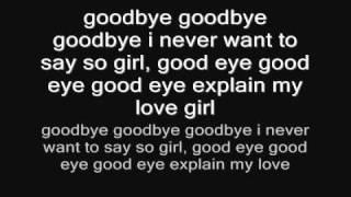 Ricky Blaze goodbye lyrics
