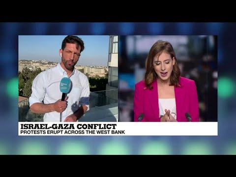Israel-Gaza conflict: protests erupt across the West Bank