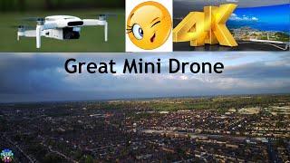 Good Morning Flight of New Fimi Mini x8 4k UHD Ultra HD Video Film (not DJI FPV Mini or Hubsan Mini)