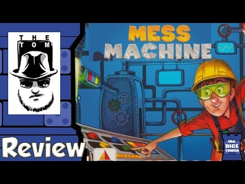 Mess Machine Review - with Tom Vasel