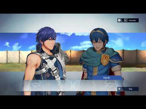 Fire Emblem Warriors - Chrom and Marth Support Conversation