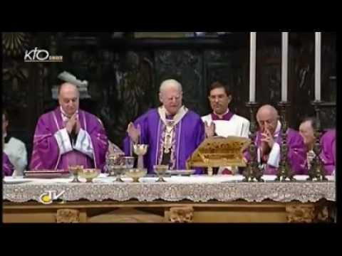 Messe de funérailles du cardinal Carlo Maria Martini