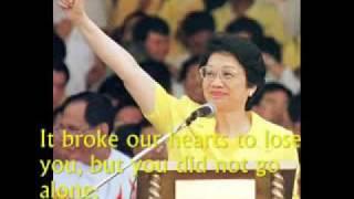 Charice's Wind Beneath My Wings   Tribute to Pres  Aquino