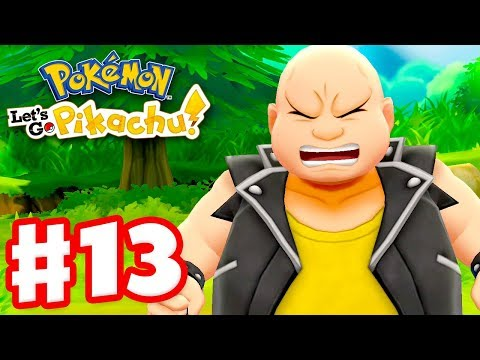 Pokemon Let's Go Pikachu and Eevee – Gameplay Walkthrough Part 13 – Routes 13, 14, and 15!