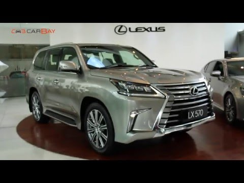 All New Lexus LX 570 2016 Launch