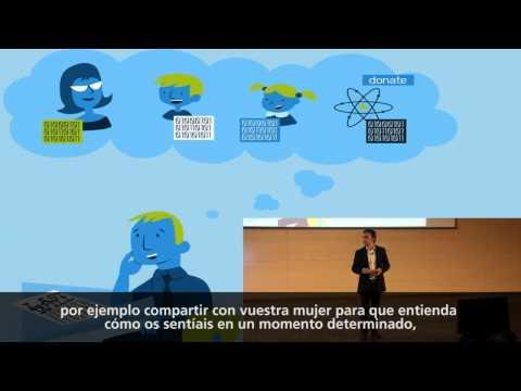 My data soul: Pablo Rodríguez at TEDxBarcelona