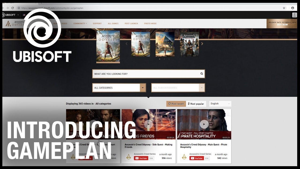 Introducing Ubisoft Gameplan – A Curated Resource for Tips