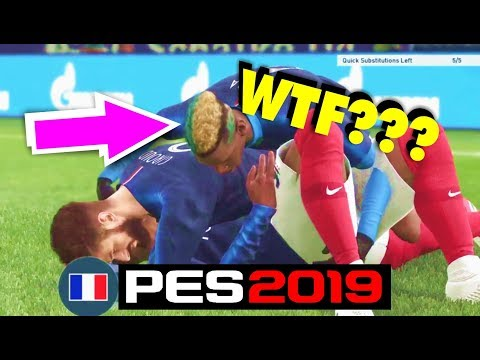 PES 2019 - Online Game ( Lots Of Goals ) + HILARIOUS HUMPING CELEBRATION
