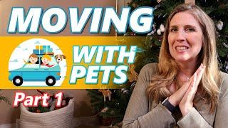 🚙 Moving With 🐶🐱 Pets Across Country - Part 1