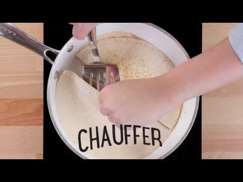 Quésadillas au fromage préparées avec des tortillas POM