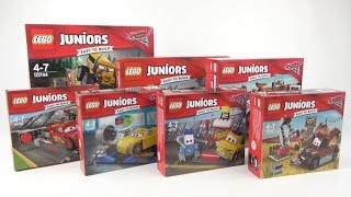 LEGO Juniors Cars 3 Collection Toy Unboxing & Speedbuild