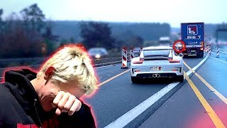 1st day with my new Porsche and this happens *Autobahn gone wrong*