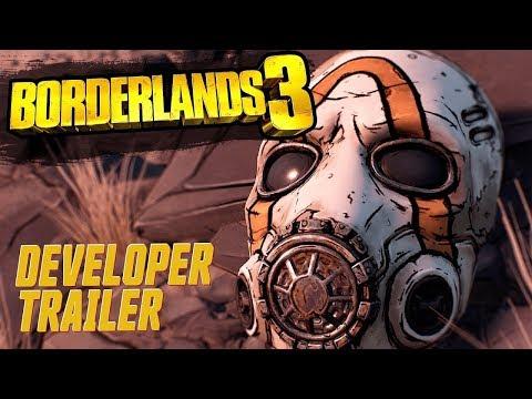 , title : 'Borderlands 3 Official Developer Trailer'