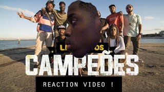REACTION TO BRAZILIAN CYPHER 🇧🇷 LINGUA DOS CAMPEOES RAP 🇧🇷🔥