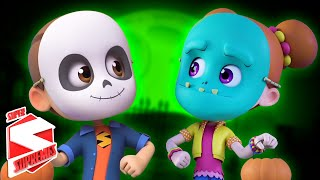 Halloween Beat | Spooky Nursery Rhymes For Children | Scary Videos For Kids