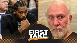 First Take debates how much 'damage' Kawhi Leonard has caused Spurs | First Take | ESPN - Video Youtube
