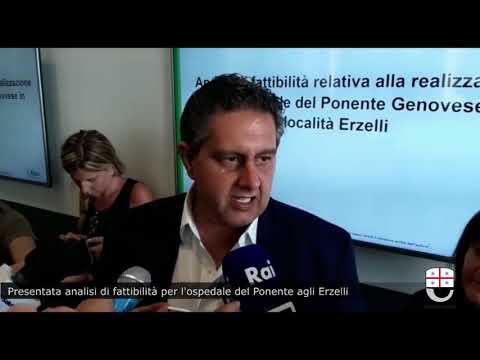 PRESENTATO STUDIO DI FATTIBILITÀ PER L'OSPEDALE AGLI ERZELLI