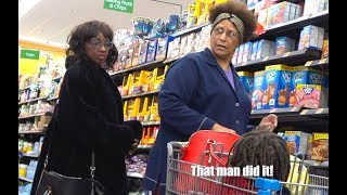 """The Pooter - Farting on People at Walmart - """"THAT MAN DID IT!"""""""