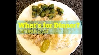 What's for Dinner? | Sept 16-22, 2018 | Large Family Meals Ideas | Dinner Ideas
