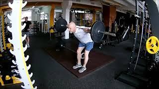 Наклоны со штангой на плечах / Функциональный тренинг