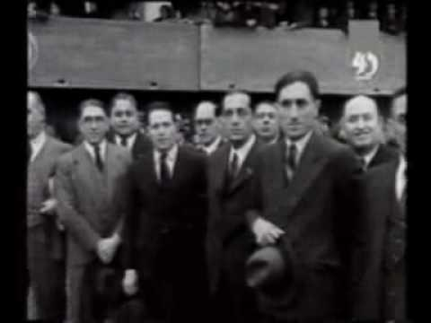 Inauguración de La Bombonera, el 25/05/1940
