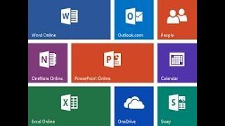 Microsoft Word Online Tutorial 2017 - Quick Start