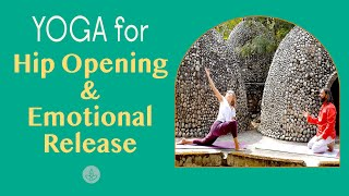 Yoga For Hip Opening & Emotional Release #yogaforhips #yogaforemotionalrelease #hipopening #yoga