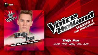 Thijs Pot – Just The Way You Are The Voice Of Holland 2016/2017 Liveshow 5 Audio