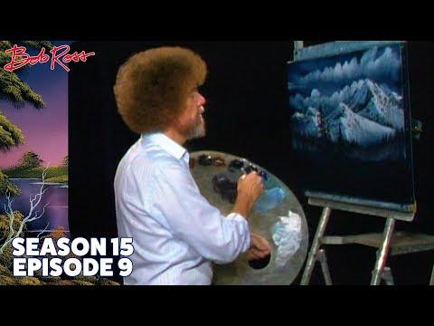 Bob Ross - Christmas Eve Snow (Season 15 Episode 9)