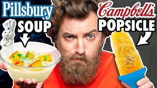 Solid Liquid Food vs. Liquid Solid Food Taste Test