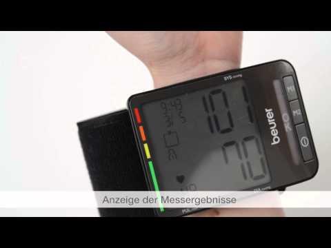 Quick Start Video des Blutdruckmessgeräts BC 80 von Beurer