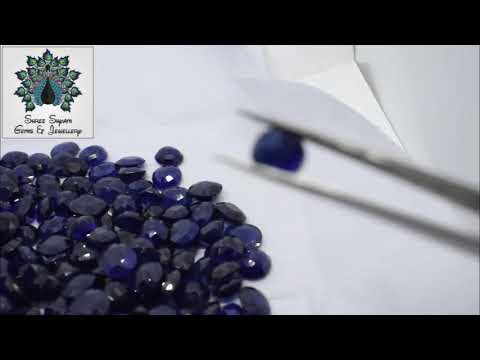 6.25 Ratti Blue Sapphire Cylone Neelam Stone Natural Gemstone