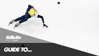 Guide to Short Track Speed Skating with Team GB   Gillette World Sport