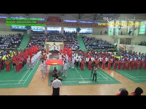Lễ khai mạc Đại hội Thể dục Thể thao ngành Giáo dục và Đào tạo tỉnh Yên Bái lần thứ VIII năm 2017