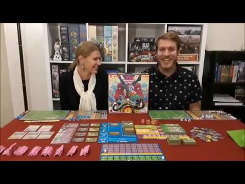 Voice of the Meeple: Dinosaur Island Review