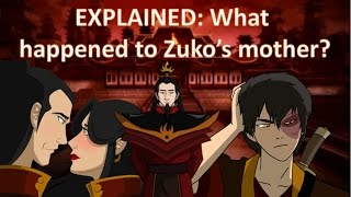 EXPLAINED: What Happened To Zuko's Mother? (Avatar, The Last Airbender)