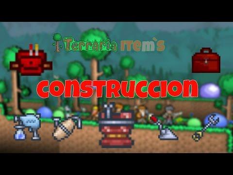 Accesorios de Construcción Terraria 1.3.4.4 Guía en Español