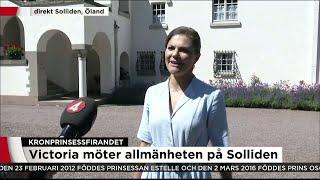 Kronprinsessan Victoria Om Dagen: Helt Fantastiskt - Nyheterna (TV4)