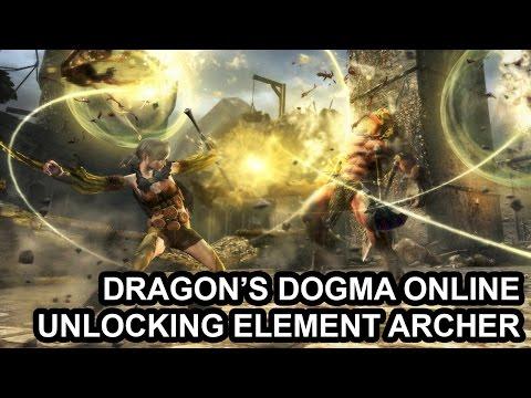 Dragon's Dogma Online mở khóa nhân vật Cung thủ