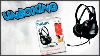 UNBOXING - HEADSET PHILIPS SHM1900/00