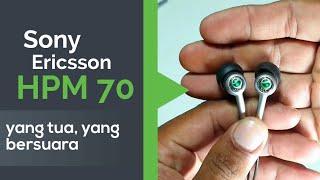 Sony Ericsson HPM 70, Classy Old School Headset / Earphone