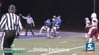 Marquise Pleasant TD Reception vs. Springdale