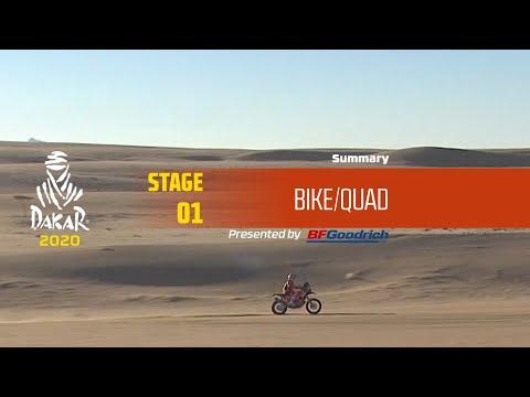 【ダカールラリーハイライト動画】ステージ1 バイク部門のハイライト