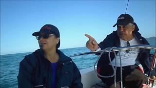Vela Adaptada navegando para a Ilha do Prumirim com o Cmte. João Maranhão