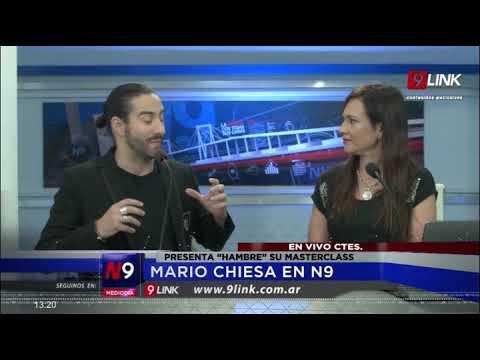 C9 - ESTUDIOS N9; MARIO CHIESA EN N9