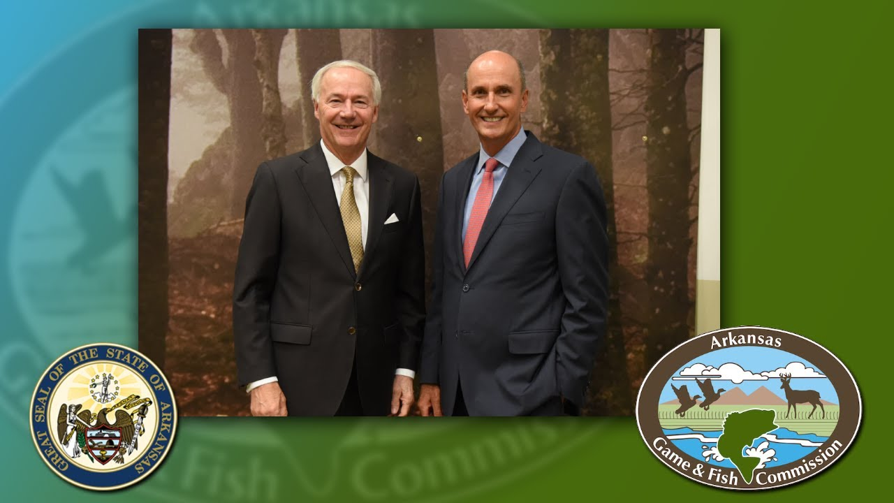Governor Hutchinson Announces Philip Tappan as new Arkansas Game and Fish Commissioner